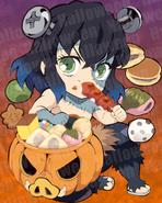 Inosuke Halloween icon