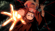 Nezuko using her Blood Demon Art