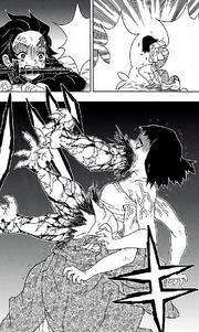 Susamaru dies from Muzan's Curse