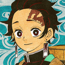 Tanjiro colored profile