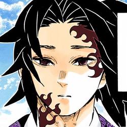 Kokushibo colored profile (human)