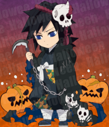 Giyu Halloween icon