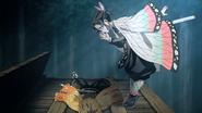 Shinobu finding Zenitsu