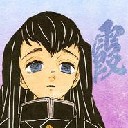 Muichiro colored profile