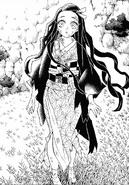 Nezuko conquering the sun CH126