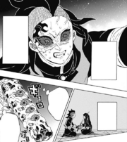 Genya shoots down Kokushibo CH173