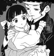 Muzan and daughter