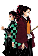 Tanjiro and Yoriichi