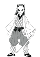 Sabito ganzer Körper (Manga)