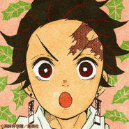 Tanjiro colored profile 9