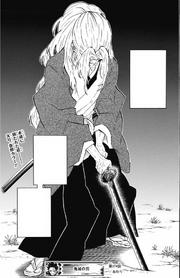 Yoriichi dies standing upright CH174