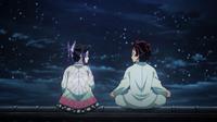 Tanjiro asks Shinobu if she's angry