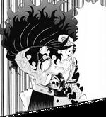 Tanjiro's Demon Slayer Mark emerges