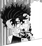 Tanjiro's Demon Slayer Mark emerges