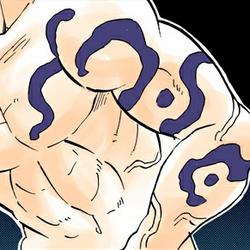 Obanai colored body (Demon Slayer Mark)