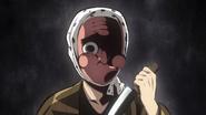 Tanjiro's imagination of Hotaru's anger over his broken blade