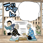 Jigoro and Sakonji's reincarnation (colored)