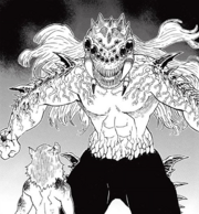 Father Spider Demon after transforming CH36