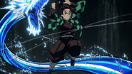 Tanjiro using Tenth Form