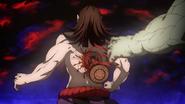 Kyogai loosing his drum