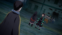Tanjiro and Nezuko vs Susamaru and Yahaba