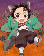 Tanjiro Halloween icon