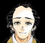 Akaza's Father colored profile