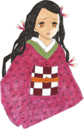 Nezuko colored body (initial appearance)