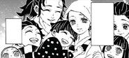 Kamado family flashback CH135