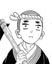 Takaharu Profile Manga