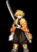 Zenitsu anime design