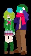 Shin and kanna
