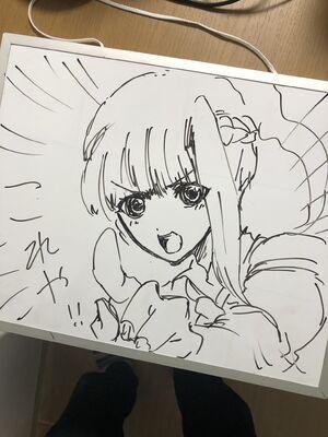 Quick sketch of sara