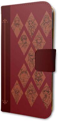 Merchandise - Cast - Phone Case (Notebook Style) (1)