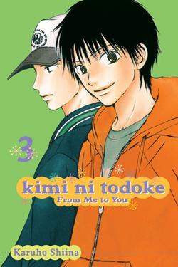 Kimi ni Todoke Manga v03 cover en