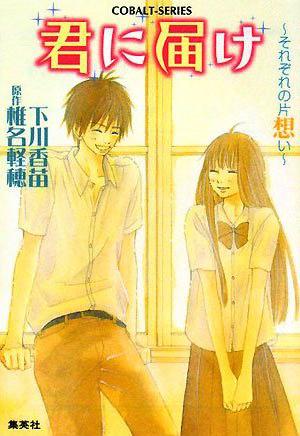 Kimi ni Todoke Light Novel v03 cover