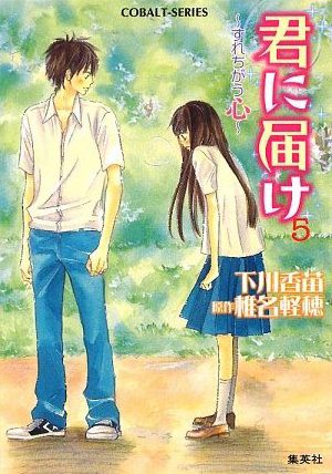 Kimi ni Todoke Light Novel v05 cover
