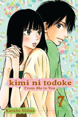 Kimi ni Todoke Manga v07 cover en