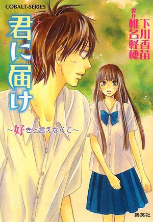 Kimi ni Todoke Light Novel v04 cover