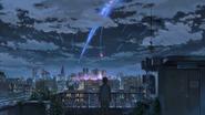 Comet Tiamat by Taki
