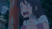 Mitsuha screaming