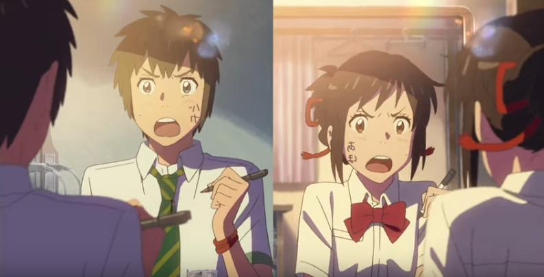 Taki And Mitsuhas Bickering