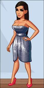 Kim SilverDress