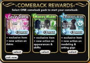 Comeback Rewards