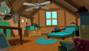 Ron stoppables attic bedroom by levi2000a-d4svezp