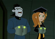 Kim and Drakken Trapped