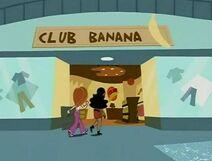 Club Bananna Entrance