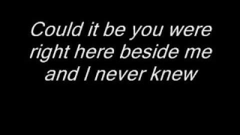 Could it be lyrics - Christy Carlson Romano