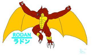 GODZILLA Rising Rodan1