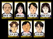 學園七不思議事件(遊戲版) 登場角色